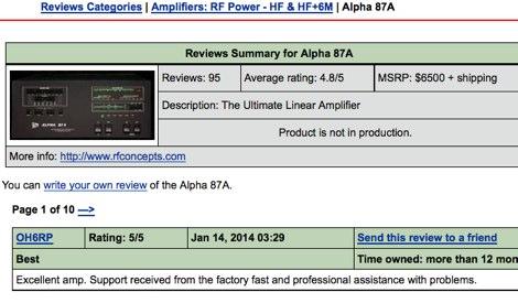 DXZone Alpha 87A reviews