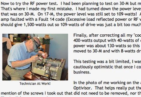 Repairing the Alpha 87a