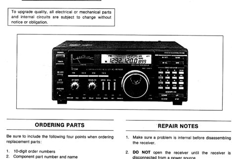 icom ic r7100 service manual rh dxzone com Icom IC-7100 Car Icom IC-7100 Car
