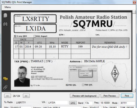 DXZone QSL Print Manager