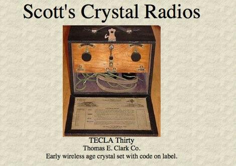 DXZone Crystal Radios Collection