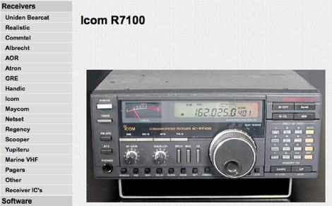 Icom R7100 discriminator output