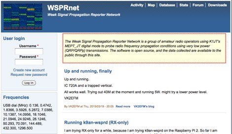 WSPRnet