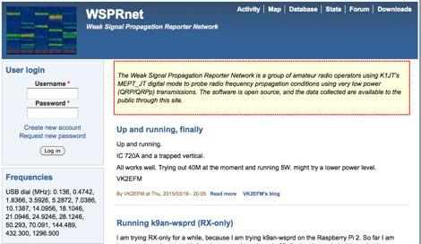 DXZone WSPRnet
