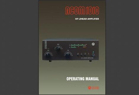 DXZone Acom 1010 Operating Manual