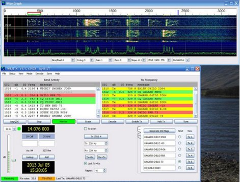 Operating JT9