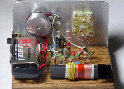 DXZone Crystal Radio Circuits