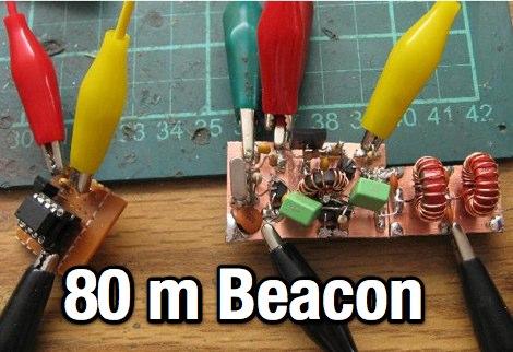 DXZone 80 m CW Beacon