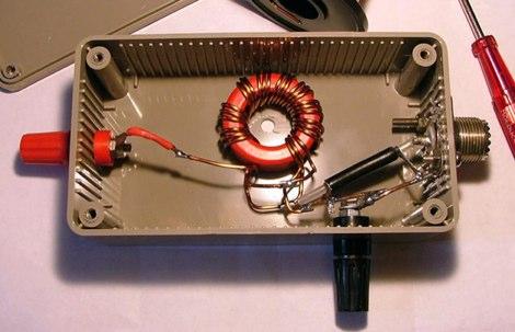 9:1 Magnetic Longwire Unun