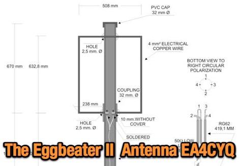 DXZone EggBeater II Antenna