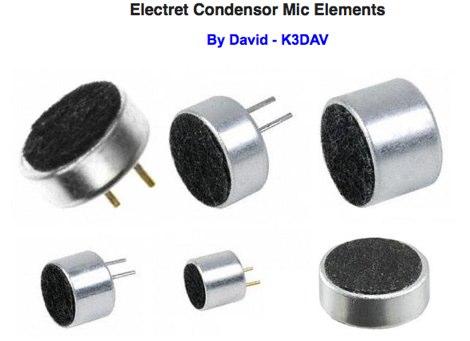 Electret Condensor Mic Elements
