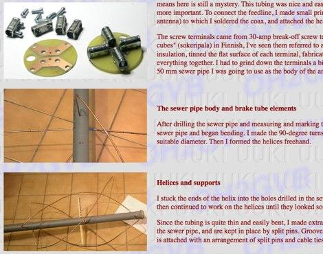 Quadrifilar Helical Antennas