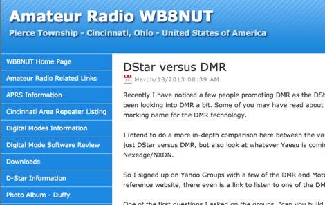 DStar versus DMR