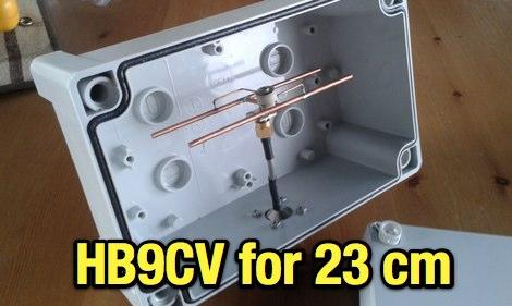 HB9CV for 23cm