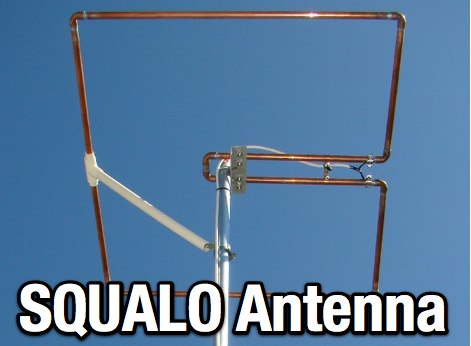 Squalo antenna for 6m
