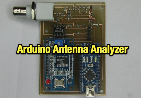 VK3YY  Antenna Analyser Project