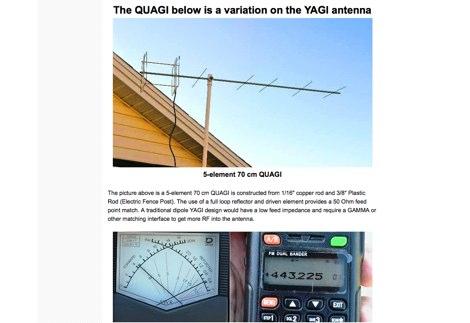 DXZone Yagi antenna and variations