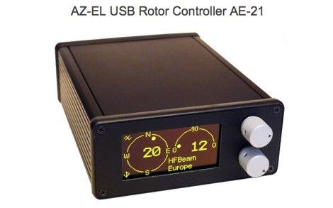 DXZone AZ-EL USB Rotor Controller AE-21