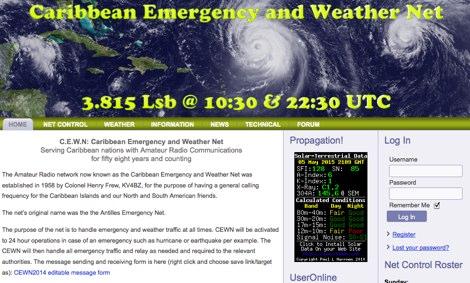 DXZone Caribbean Emergency and Weather Net