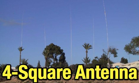 4-Square antennas in theory and practice