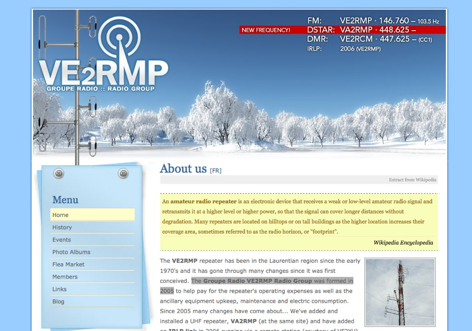 VE2RMP Radio Group