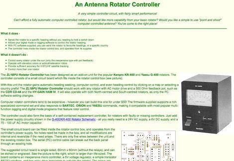 ZL1BPU Rotator Controller - Resource Detail - The DXZone com