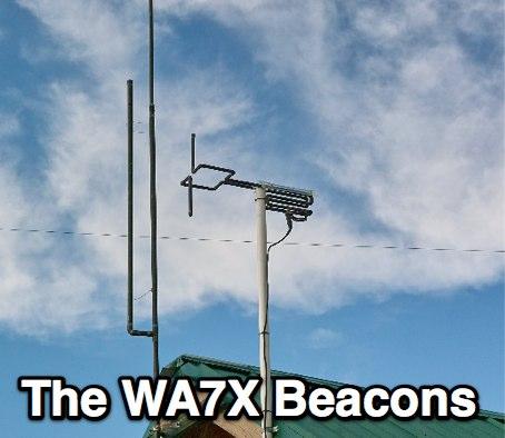 The WA7X Beacon Page