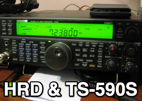TS-590 with Ham Radio Deluxe