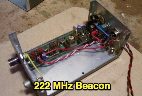 DXZone 222 MHz Transmitter Beacon
