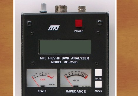 DXZone MFJ-259B Calibration