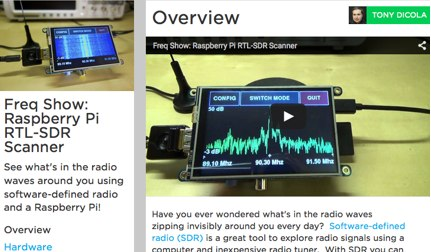 Raspberry Pi SDR Receiver