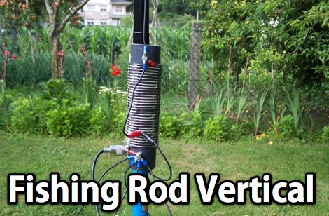 Fishing Rod Vertical