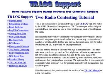 Two Radio Contesting Tutorial