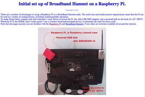 DXZone Hamnet on a Raspberry Pi