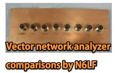 Vector network analyzer comparisons