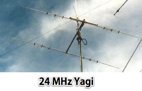 DXZone YAGI Antenna for 24 Mhz