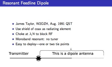 Building and Analyzing a Resonant Feedline Dipole