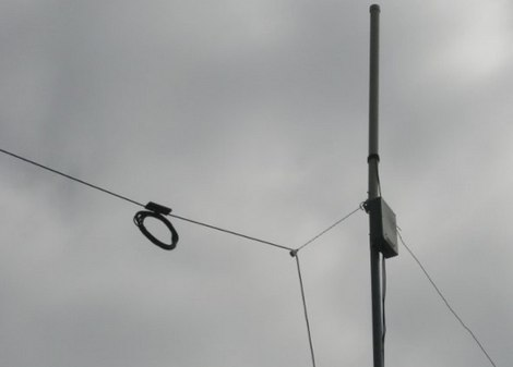 Resonant Feed Line Antenna for 40m