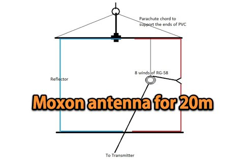 DXZone 20 Meter Moxon Antenna