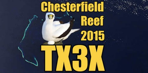 DXZone TX3X Chesterfield Island DXpedition, 2015