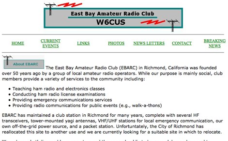 East Bay Amateur Radio Club