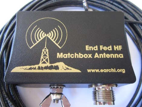 End-Fed 6-40 M Multiband Antenna