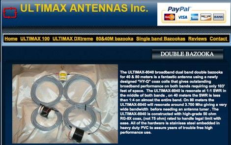DXZone Ultimax Antennas Inc