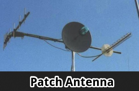 A Simple Patch Antenna Feed
