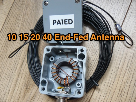 Multiband End-Fed Antenna