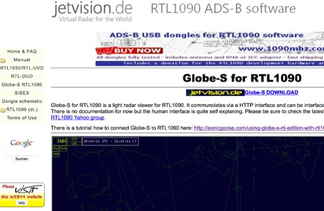 Globe-S for RTL1090