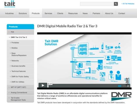 DXZone Tait Communications