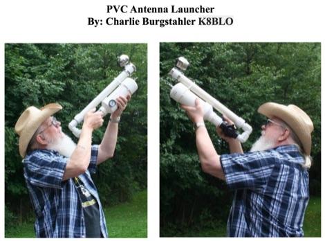 PVC Antenna Launcher