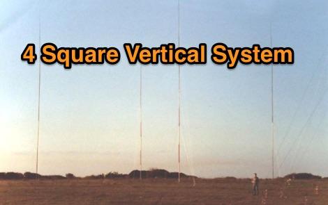 DXZone 4 Square vertical system