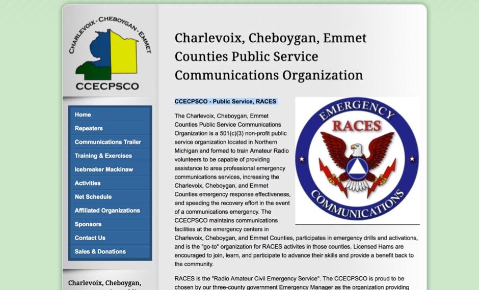 CCECPSCO - Public Service, RACES